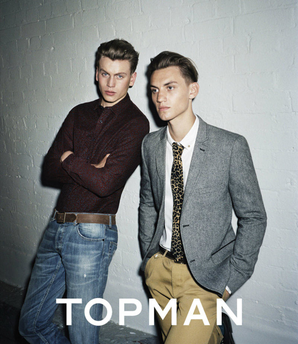 Topman advertising campaign