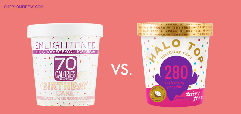 Halo Top vs. Enlightened – Which Low Calorie Ice Cream is Better?