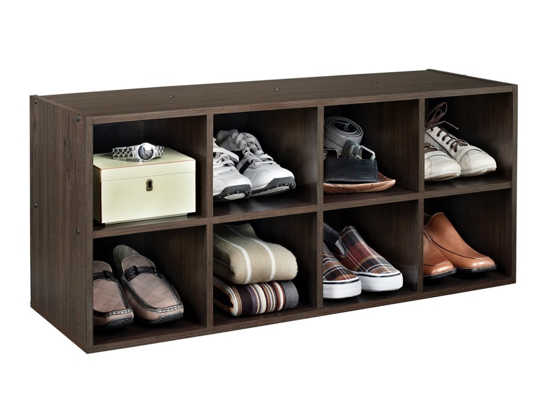 ClosetMaid 8-Compartment 8 Pair Stackable Shoe Rack $49.99