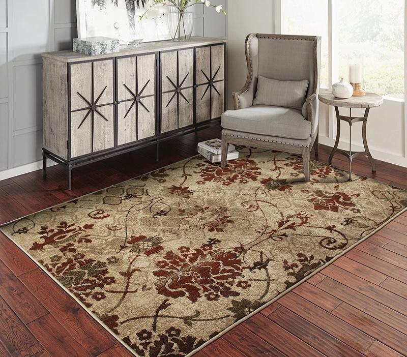 Fleur De Lis Living Singletary Wool Red Beige Area Rug $21.99 - $115.99