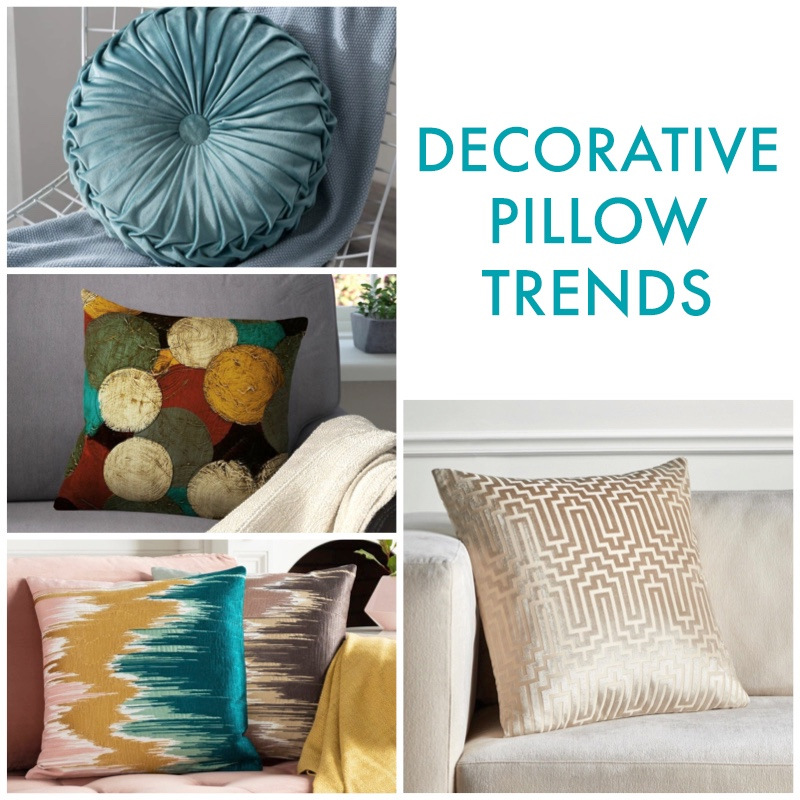 Decorative pillow trend