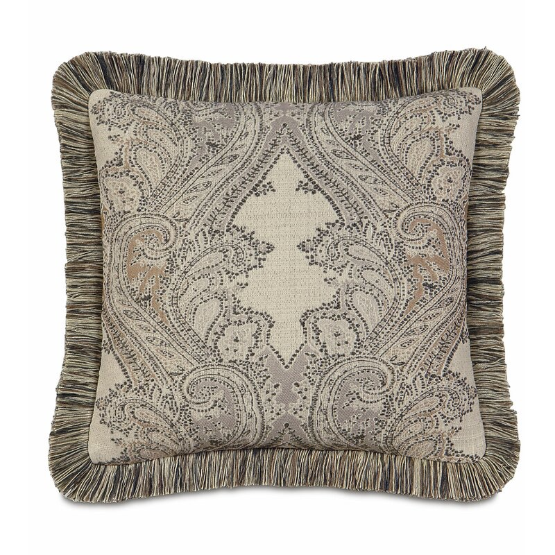 Eastern Accents Aiden Brush Fringe Throw Pillow $120