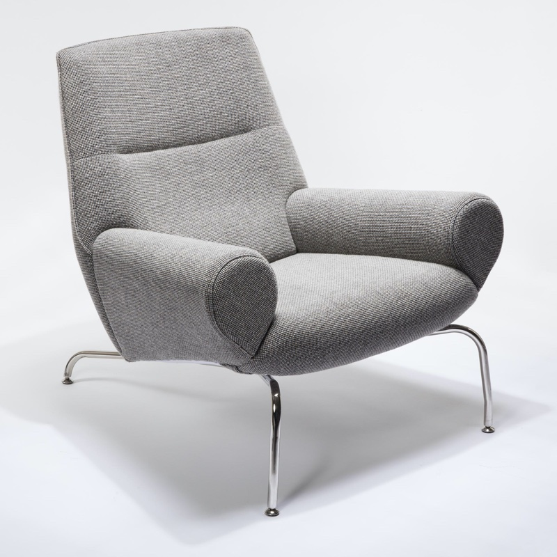 Galla Home Erlich Lounge Chair in Gray $999