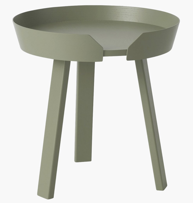 Muuto Around Coffee Table in Dusty Green (Small) $449