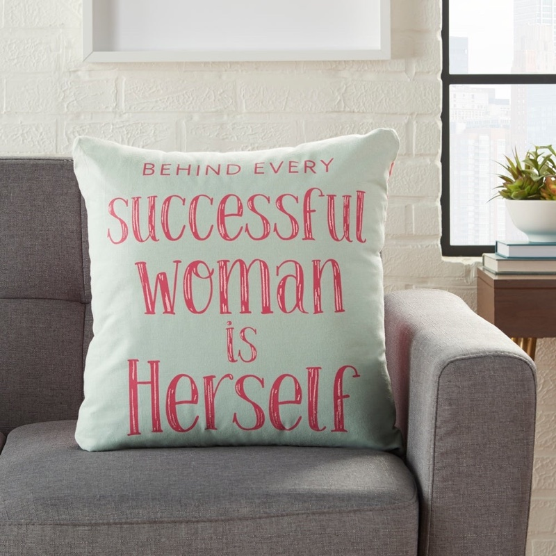 Porch Den Olaf Successful Woman Throw Pillow $49.99