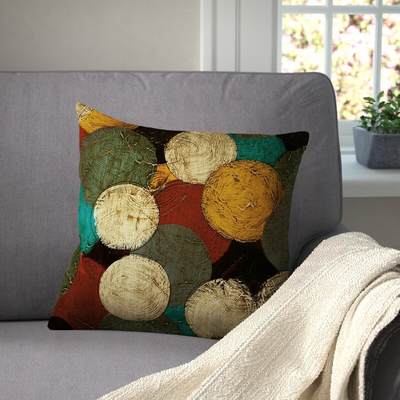 Red Barrel Studio Jeramy Printed Throw Pillow $26.99