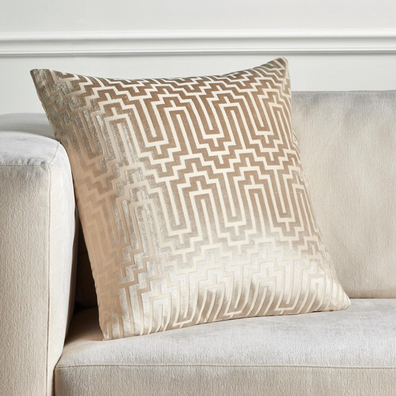 "Z Gallerie Porter Pillow 24"" in Soft Gold $62.99"